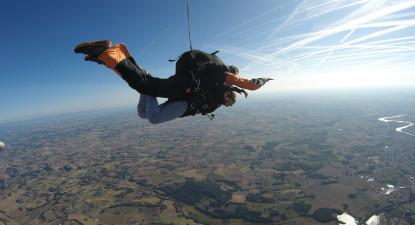 Saut en Parachute tandem proche de Toulouse