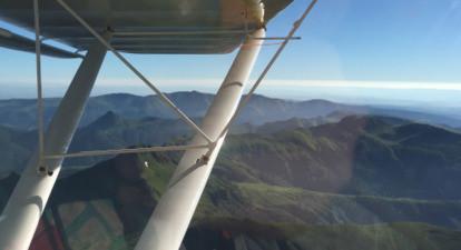 Initiation au pilotage ou baptême de l'air en ULM près d'Aurillac