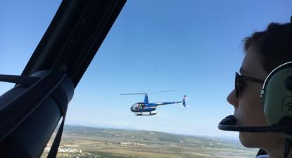 Baptême en Hélicoptère dans l'Hérault - Vol en hélicoptère à Agde
