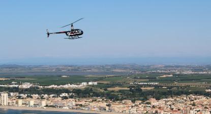 Baptême en Hélicoptère dans les Bouches du Rhône - Vol en hélicoptère à Marseille