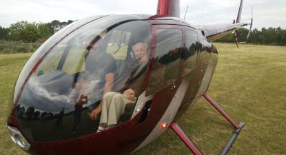 Baptême en Hélicoptère dans l'Hérault - Vol en hélicoptère à Montpellier
