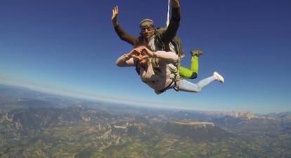 Saut en Parachute à Gap-Tallard
