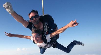 Saut en parachute près de Dreux et Alençon