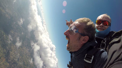 Saut en parachute près de Toulouse Sud