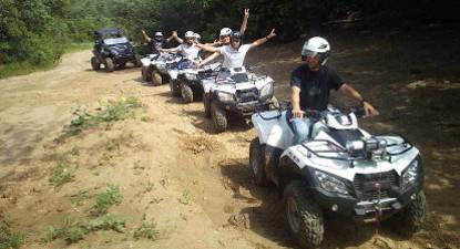 Randonnée en quad ou buggy tout terrain près d'Alès