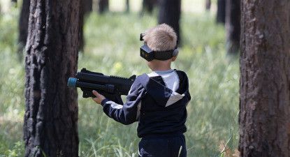 Painball, laser game ou archery bump  à Aniane près de Montpellier