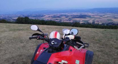 Randonnée en quad près de Grenoble