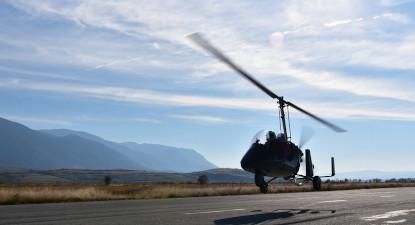 Randonnée en quad et vol en ULM autogire près de Grenoble