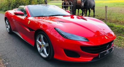 Baptême ou pilotage d'une Ferrari Portofino près d'Angers