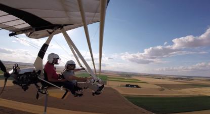 Vol en ULM pendulaire en Val de Loire près de Blois