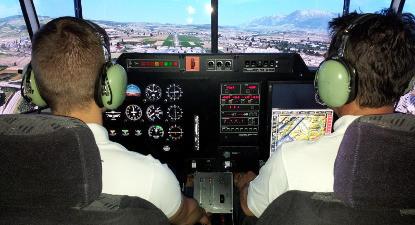 Pilotage sur un entraineur de vol en avion Cessna 172 près de Marseille