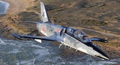 Vol en avion de chasse L39 à la Roche-Sur-Yon