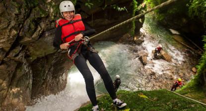 Canyoning près d'Aix-les-Bains - Canyon du reposoir