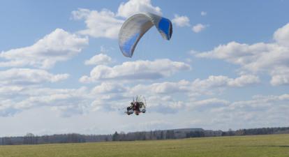 Vol en paramoteur à Chenevelles - Découverte et Initiation