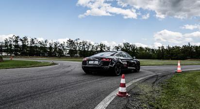 Stage multivolants en Audi R8 et Ferrari 360 Modena - Circuit d'Andrézieux