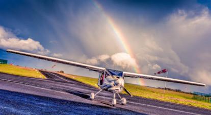 Initiation au pilotage d'avion à Cholet