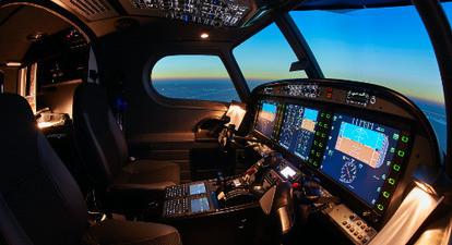 Simulation avion de ligne expérience vol scénarisé à Cholet