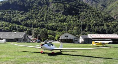 Vol en planeur à Luchon