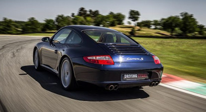 Stage de pilotage Porsche 911- Circuit de Charade