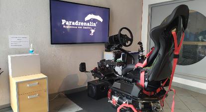 Simulateur de pilotage de voitures de course à Tallard