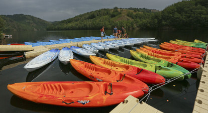Location de Kayak, paddle ou pédalo près de Saint Flour