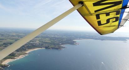 Vol en ULM Pendulaire à proximité de St Gilles Croix de Vie et des Sables d'Olonne