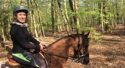Balade à cheval dans le parc de Maisons-Laffitte et en forêt de Saint-Germain