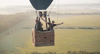 Vol en montgolfière près de Saint Etienne - Survol de la plaine du Forez