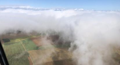 Vol en hélicoptère près de Dijon