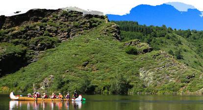 Randonnée encadrée sur le lac de Lanau près de Saint Flour
