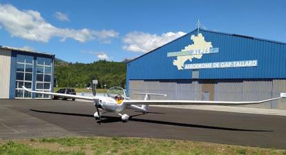 Vol en planeur à Gap Tallard