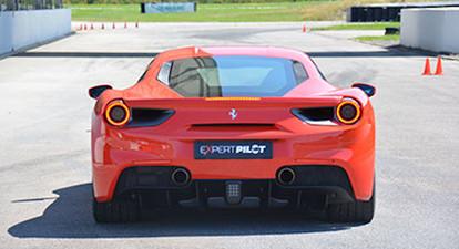 Stage de pilotage en Ferrari F488 - Circuit Geoparc