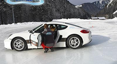 Stage de conduite sur glace - Circuit Abondance près de Thonon