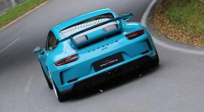 Pilotage d'une Porsche 991 GT3 - Pôle Mécanique Alès
