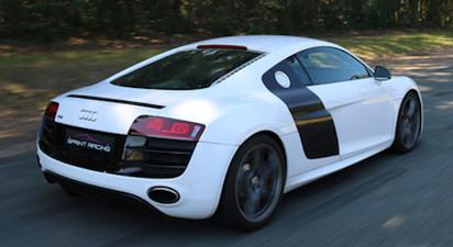 Pilotage en Audi R8 - Circuit de l'Auxois