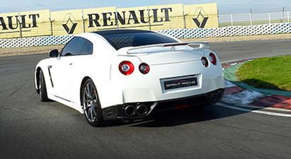 Pilotage en Nissan GTR - Circuit de l'Auxois
