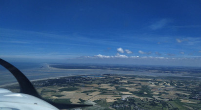 Baptême de l'air en avion à Chavenay - Survol du Vexin ou de Rambouillet