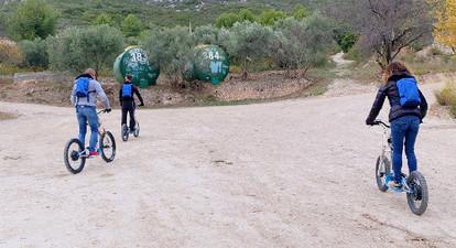 Randonnée en trottinette électrique à Aubagne à la découverte du massif du Garlaban
