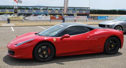 Pilotage de 2 voitures (Porsche, Ferrari, Lamborghini...) - Circuit de Pont l'Évêque