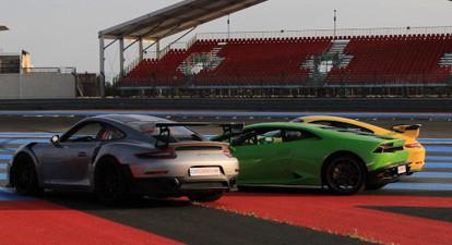 Stage de pilotage en Lamborghini Huracan - Circuit de Mortefontaine