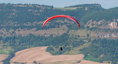 Vol en Parapente avec vidéo à Millau
