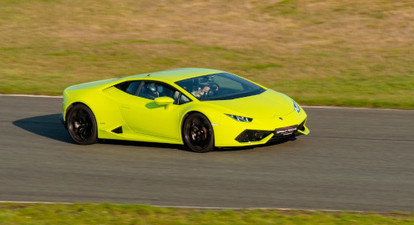 Pilotage en Lamborghini Huracan - Circuit de Montlhéry