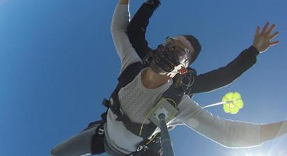 Saut en parachute près de Clermont Ferrand