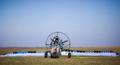 Vol en Parapente Motorisé à Prunay-sur-Essonne près d'Evry