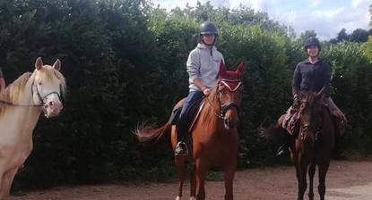 Stage ou cours d'équitation près de Saumur