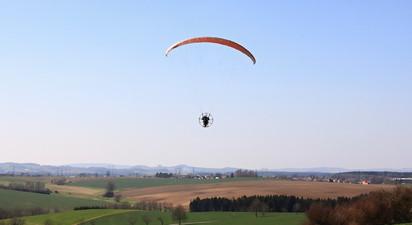 Vol en ULM Paramoteur près de Pau