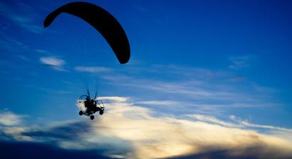 Vol dans les Landes en ULM Paramoteur près de Mont-de-Marsan