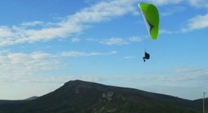 Vol en parapente près de Buis-les-Baronnies dans la Drôme