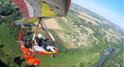 Vol en ULM Pendulaire près de Toulouse