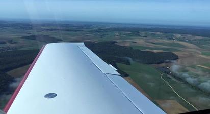 Baptême de l'Air en avion léger à Amiens